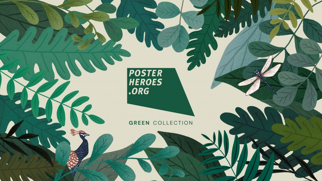 Posterheroes Green Collection